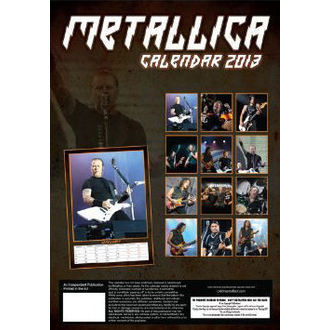 Kalender   2013 Metalllica, Metallica