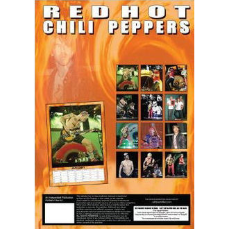 Kalender   2013 - Red Hot Chili Peppers, Red Hot Chili Peppers