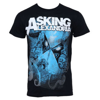 Herren T-Shirt Asking Alexandria - Hourglass - PLASTIC HEAD, PLASTIC HEAD, Asking Alexandria