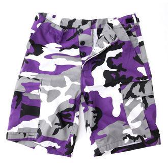 Herren Shorts   US BDU - Army - Lila Camo, BOOTS & BRACES