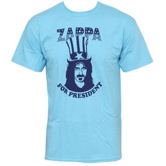 Herren T-Shirt Frank Zappa - Zappa For President - Blue - PLASTIC HEAD, PLASTIC HEAD, Frank Zappa