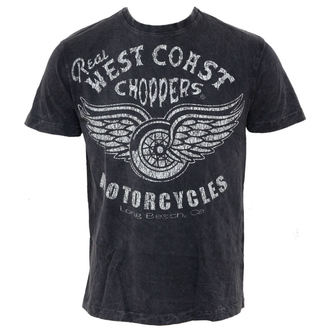 Herren T-Shirt West Coast Choppers - Real Vintage - Black, West Coast Choppers