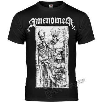 Herren T-Shirt Hardcore - POPE AND DEATH - AMENOMEN, AMENOMEN