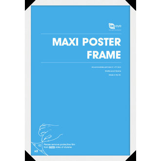 Rahmen  Posters (61x91,5 cm) - White - GB Posters
