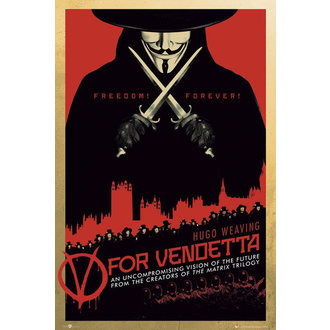 Posters V For Vendetta One Sheet - GB Posters