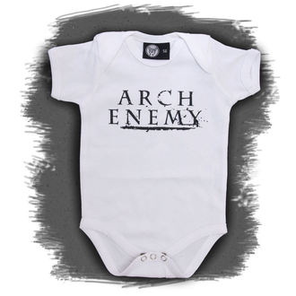 Baby Body  Arch Enemy - Logo - White, Metal-Kids, Arch Enemy
