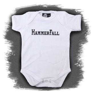 Baby Body  Hammerfall - Logo - White, Metal-Kids, Hammerfall