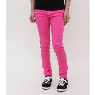 Damen Hose  HELL BUNNY - Super Skinny - Pink, HELL BUNNY
