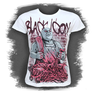 Damen T-Shirt  BLACK ICON - Execution - White, BLACK ICON