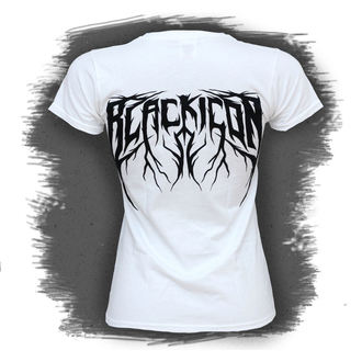 Damen T-Shirt  BLACK ICON - Cricket - White, BLACK ICON