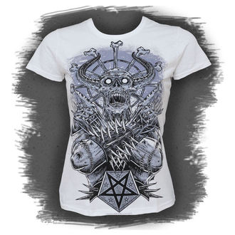 Damen T-Shirt  BLACK ICON - Metall Demon - White, BLACK ICON