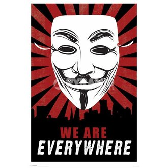 Poster We Are Everywhere - Pyramid Posters - PP32801