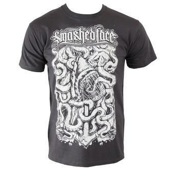 Herren T-Shirt SMASHED FACE - Shark - Graphite, NNM, Smashed Face