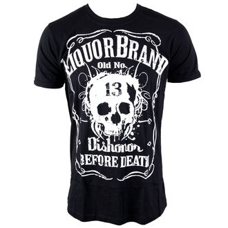 Herren T-Shirt LIQUOR BRAND - Dishonor Before Death, LIQUOR BRAND