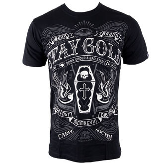 Herren T-Shirt LIQUOR BRAND - Stay Gold, LIQUOR BRAND