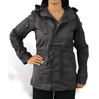 Jacke Damen SURPLUS - Parka - Black, SURPLUS