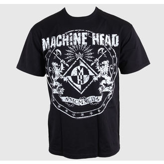 Herren T-Shirt Machine Head - Classic Crest - EMI, ROCK OFF, Machine Head