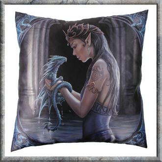Kissen Anne Stokes - Water Dragon