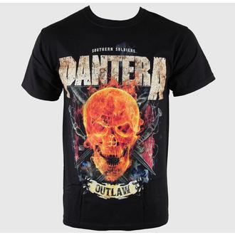 Herren T-Shirt Pantera - Outlaw Skull - BRAVADO USA, BRAVADO, Pantera