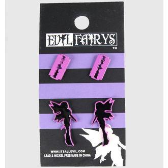 Ohrringee POIZEN INDUSTRIES - EFES1 - Fairy & Razorblade, EVIL FAIRYS
