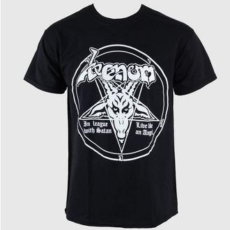 Herren T-Shirt Venom - In League With Satan - RAZAMATAZ, RAZAMATAZ, Venom