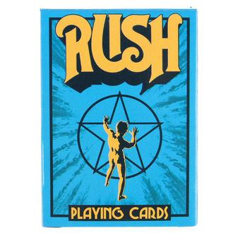 Karten Rush - Blue, Rush