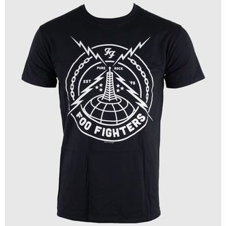 Herren T-Shirt Foo Fighters - Black Strike - LIVE NATION, LIVE NATION, Foo Fighters