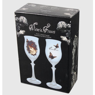 Glas (Set 2 St.) Victoria Frances - Butterfly U. Butterfly, VICTORIA FRANCES, Victoria Francés