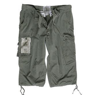 Herren Shorts   3/4 MIL-TEC - Air Combat - Prewash Oliv, MIL-TEC