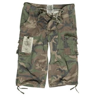 Herren Shorts   3/4 MIL-TEC - Air Combat - Prewash Woodland, MIL-TEC
