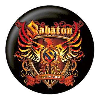 Button Sabaton - Coat Of Arms - NUCLEAR BLAST, NUCLEAR BLAST, Sabaton