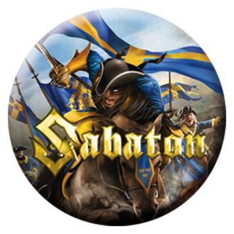 Button Sabaton - Carolus Rex - Limited, NUCLEAR BLAST, Sabaton