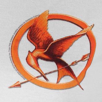 Damen T-Shirt  Hunger Games - Mocking Jay Pin - LIVE NATION, LIVE NATION