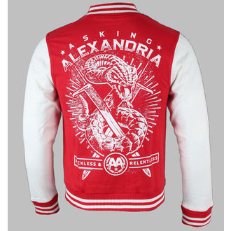 Herren Sweatjacke  Asking Alexandria - Snake - PLASTIC HEAD, PLASTIC HEAD, Asking Alexandria