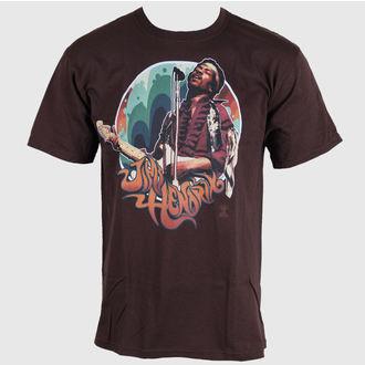 Herren T-Shirt Jimi Hendrix - Hendrix Groove - LIQUID BLUE , LIQUID BLUE, Jimi Hendrix