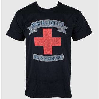 Herren T-Shirt Bon Jovi - Bad Medicine - PLASTIC HEAD, PLASTIC HEAD, Bon Jovi