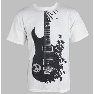Herren T-Shirt Music - Crow Guitar - LIQUID BLUE, LIQUID BLUE