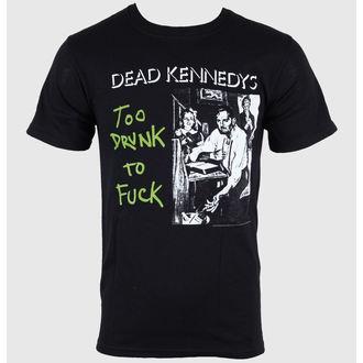 Herren T-Shirt Dead Kennedys - Too Drunk - Black - IMPACT, IMPACT, Dead Kennedys