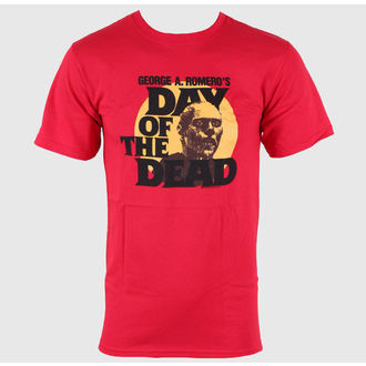 Herren T-Shirt Day of the Dead - Circle Portrait - Red - IMPACT, IMPACT
