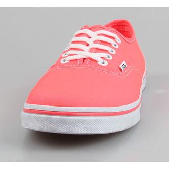 Schuhe VANS - Authentic Lo Pro (Neon) - Coral, VANS