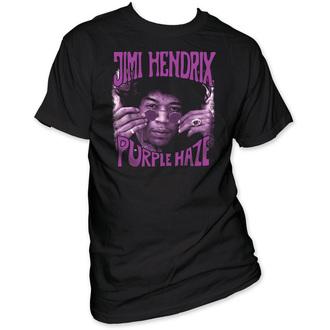 Herren T-Shirt Jimi Hendrix - Purple Haze - Black - IMPACT, IMPACT, Jimi Hendrix