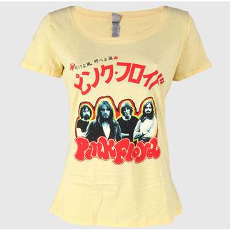 Damen T-Shirt  Pink Floyd - Japan Tour 1972 - Banane Cream - IMPACT, IMPACT, Pink Floyd