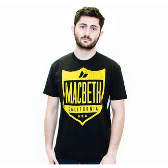 Herren T-Shirt MACBETH - Crest, MACBETH