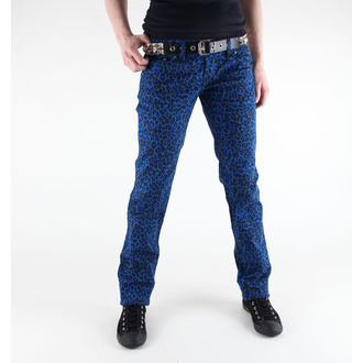 Damen Hose 3RDAND56th - Print Skinnies - JM409 - ROYAL