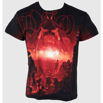 Herren T-Shirt Dio - Last In Line Allover - JSR, Just Say Rock, Dio