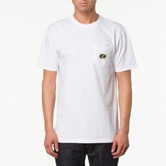Herren T-Shirt VANS - AV78 Pocket Tee - White, VANS