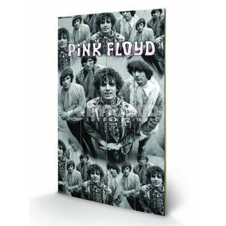 Holzbild Pink Floyd - Piper - Pyramid Posters, PYRAMID POSTERS, Pink Floyd