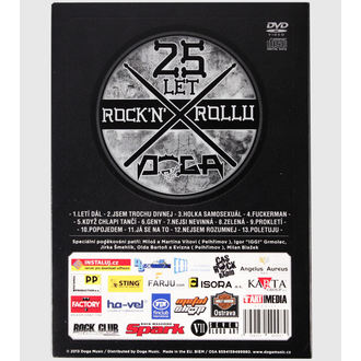 DVD DOGA- 25 let Rock'n'Roll, Doga