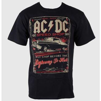 Herren T-Shirt AC/DC - Speedshop - LIQUID BLUE , LIQUID BLUE, AC-DC