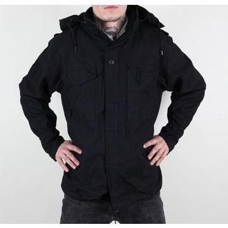 Herren Jacke Frühling-Herbst M65 Fieldjacket NYCO Washed - BLACK, BOOTS & BRACES